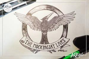 21st INKtober [ The Mockingjay Lives ]