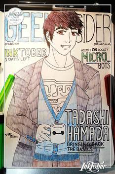 28th INKtober [ Tadashi Hamada ]