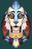 Symmetrical Headshot for RoARk030 by corust