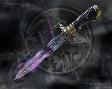 dagger black raven
