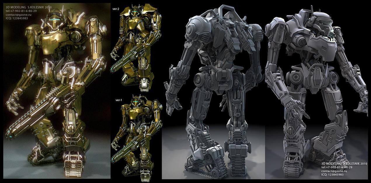 robot engineer by ksn-art