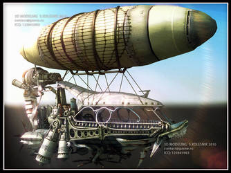 airship by ksn-art