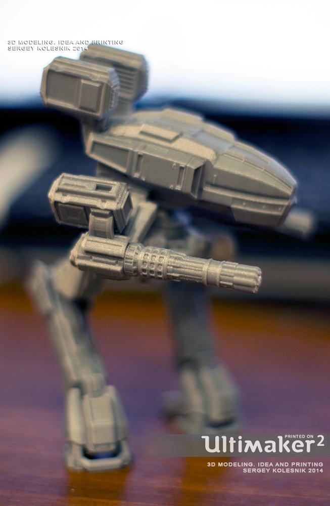 R-walker Mesh by ksn-art