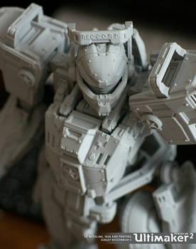 Titan promo toy robot
