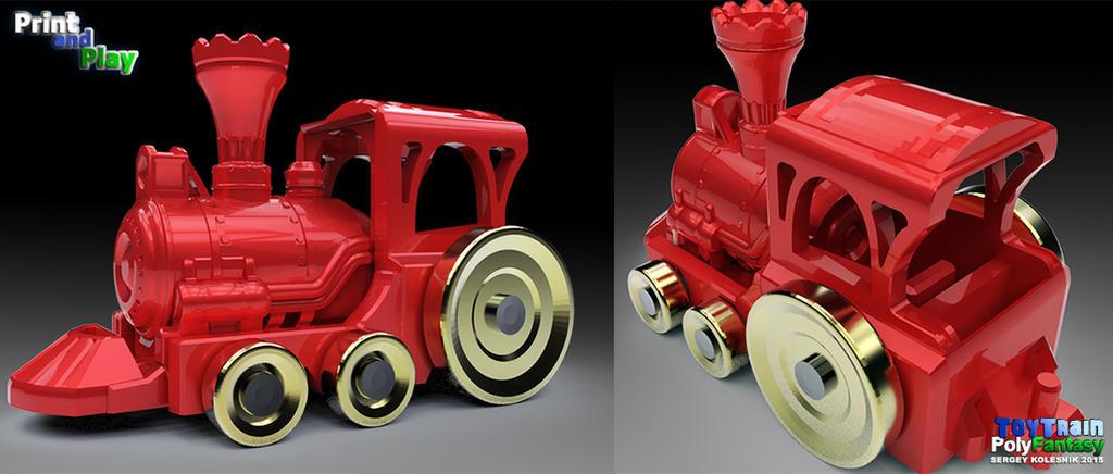 toy train by ksn-art