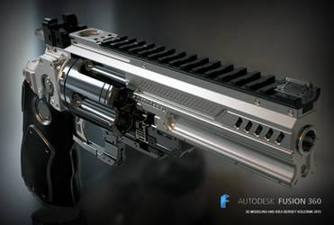 Konstantin heavy revolver