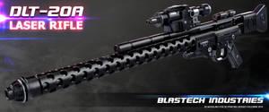 DLT-20A laser rifle by ksn-art