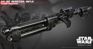 E-22 Blaster Rifle by ksn-art
