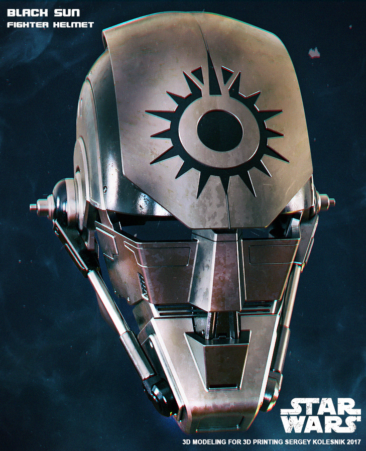 Black Sun Fighter Helmet3 by ksn-art