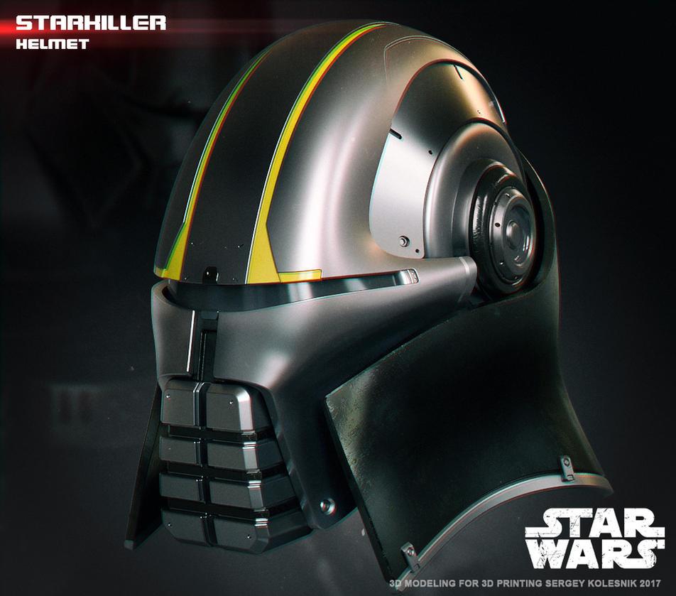 Starkiller helmet 3d print model by ksn-art
