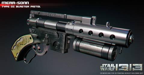 merr-sonn type cc blaster pistol