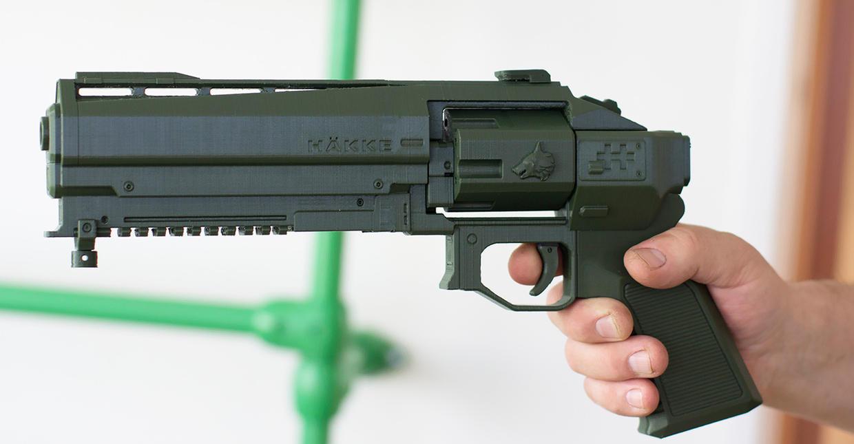 crimil's dagger 3dptint kit  Destiny 2 by ksn-art