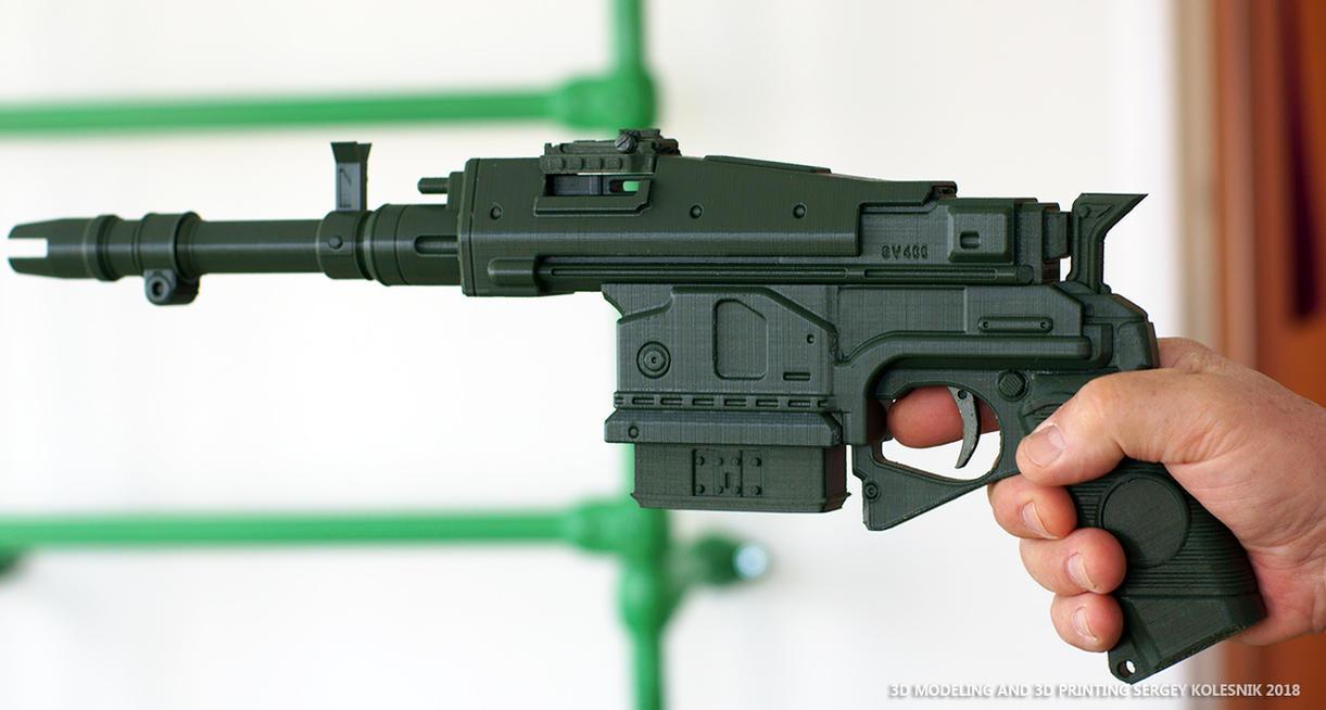 3d print Exotic Handcannon Sturm by ksn-art