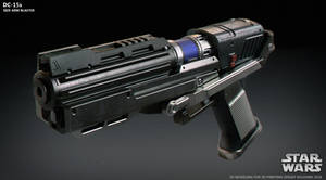 DC-15s side arm blaster by ksn-art