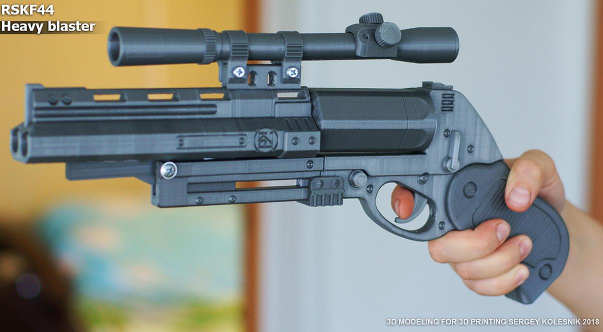 Blastech RSKF44 Heavy blaster prop by ksn-art