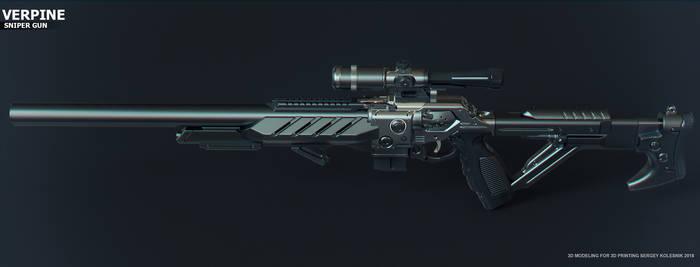 Verpine sniper gun