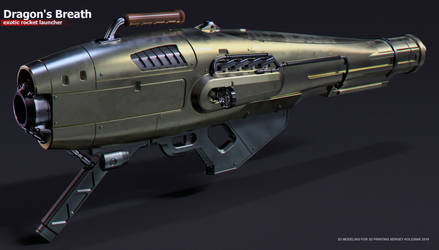 Dragons Breath exotic rocket launcher by ksn-art