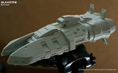 Quixote Missile Frigate by ksn-art