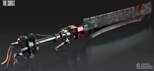 Severed Rotor Blade