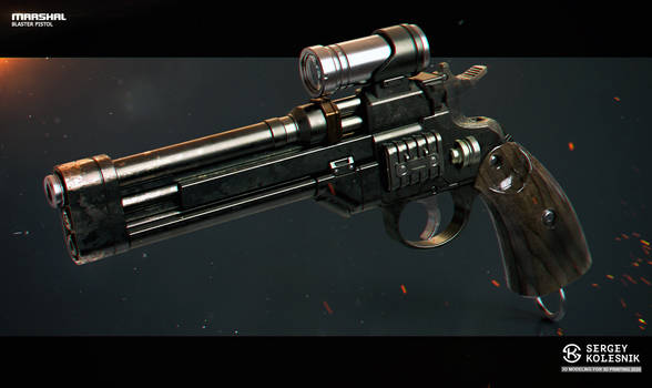 Marshal's blaster