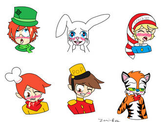 Cereal Mascots With Ahegao Faces by Zomi-Bea