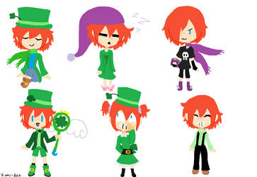 Lucky Outfits by Zomi-Bea
