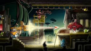 Platform game: visual proof of concept