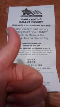 Voting Receipt