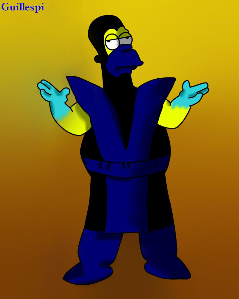 zub homer by guilleapi