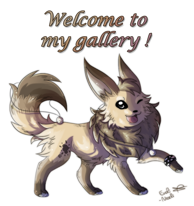 ID Welcome to my gallery by Evoli-niceli