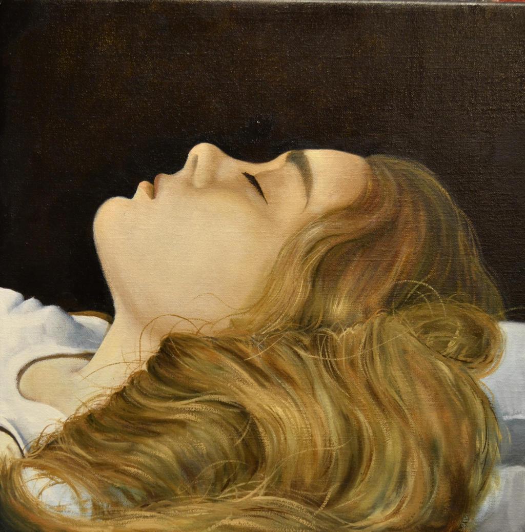 Sleeping Girl (study) by liquidclouds