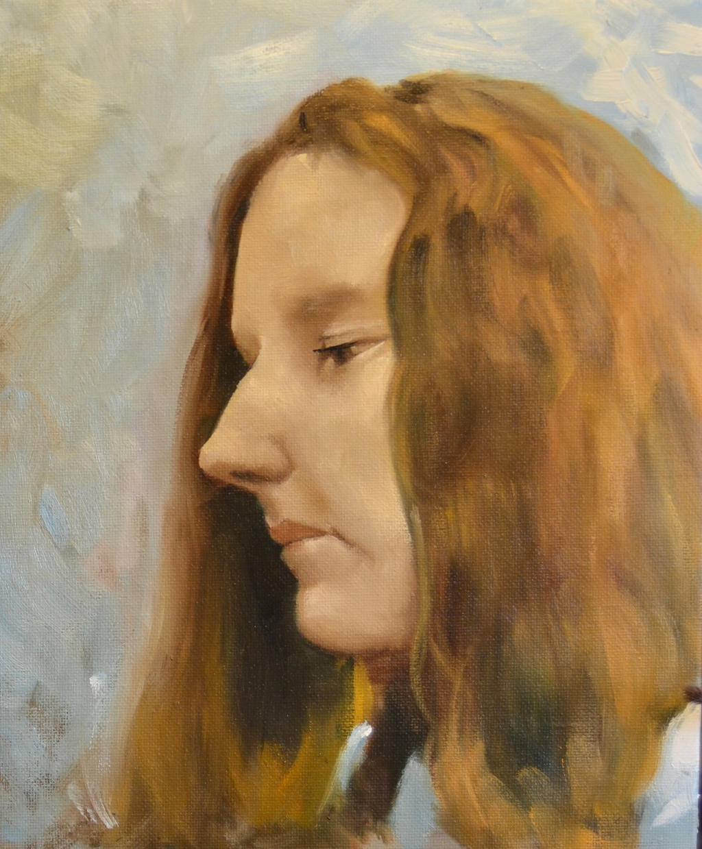 portrait sketch 2 by liquidclouds