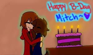 Happy b-day Mitch~