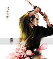 Samurai: Like Sakura Petals by Tatiax