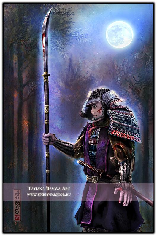 Moon Samurai - Loyalty by Tatiax