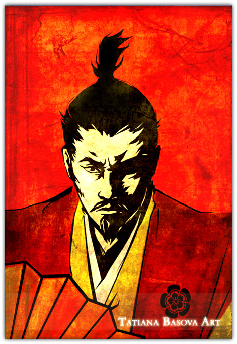 Oda Nobunaga by Tatiax