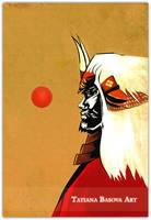 Takeda Shingen by Tatiax