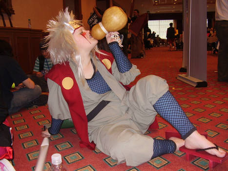 Jiraiya is drunk Cosplay