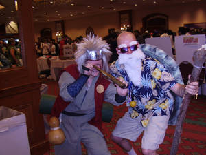 Two Pervy Sages Cosplay