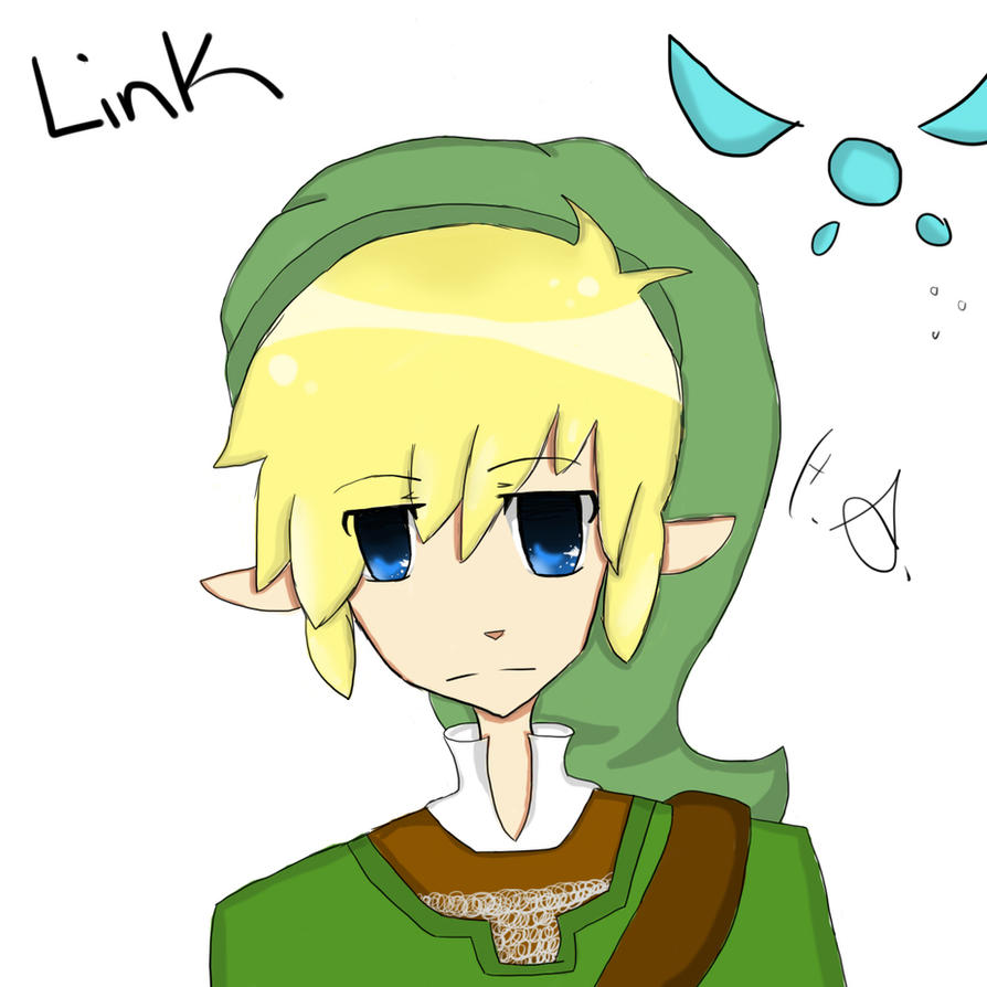 Legend of Zelda - Link by animeloverFTW