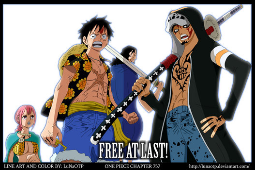 One Piece - Chapter 757 - Free At Last by LuNaOTP
