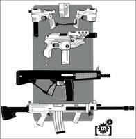 Shadowrun: Arsenal Guns-Lethal by Br0uHaHa