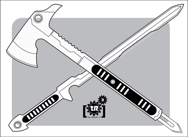Shadowrun: Melee Weapons 1 by Br0uHaHa on DeviantArt