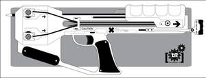 Shadowrun: Arsenal XBow Pistol