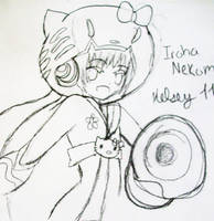 Nekomura Iroha -sketch- by xXimmaeatjooXx