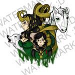 WeLoveFine: Loki Teeshirt
