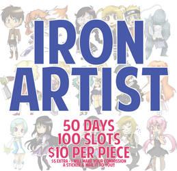 IRON ARTIST! {100 Slots} by xXimmaeatjooXx