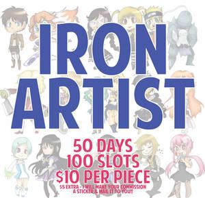 IRON ARTIST! {100 Slots}
