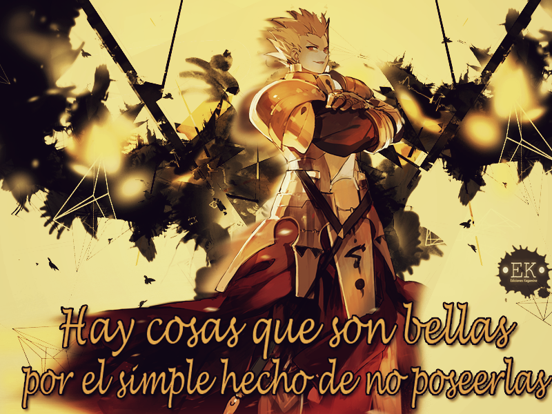Wallpaper Gilgamesh Fate Pedido By Byakuyamon1109 On