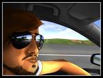 cruising around